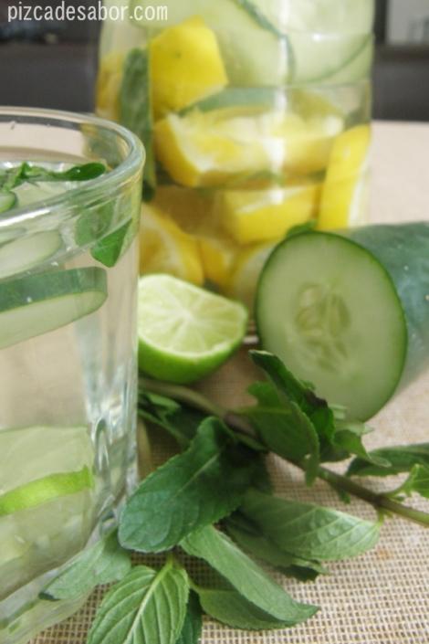 Agua Detox o purificadora – Pizca de Sabor