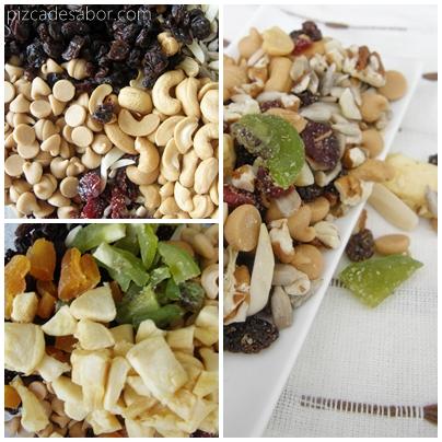 Snack saludable / Trail Mix - Pizca de Sabor